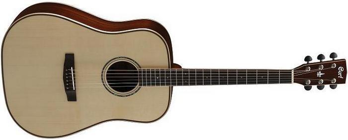 Акустическая гитара Cort AS-E5 с кейсом