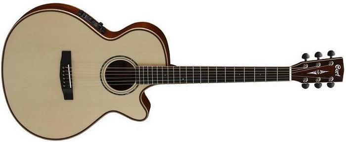 Электроакустическая гитара Cort AS-S4 с кейсом