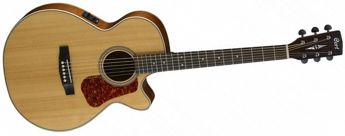 Электроакустическая гитара Cort L100F