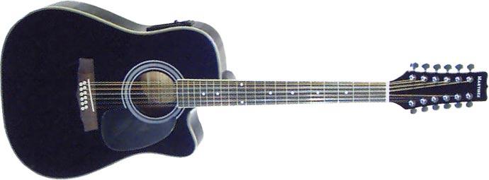 Акустическая гитара Martinez FAW-802-12EQ