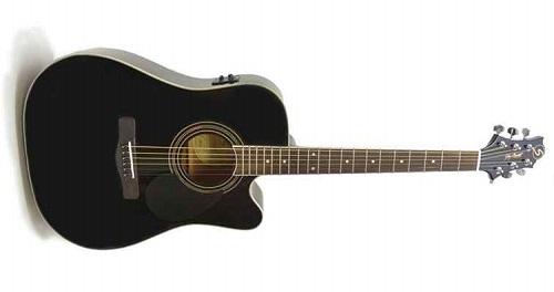 Акустическая гитара Greg Bennett GD100SCE/BK