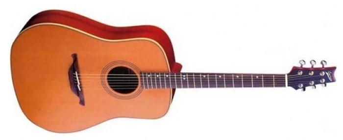 Электроакустическая гитара CUENCA mod. NW-10 E3