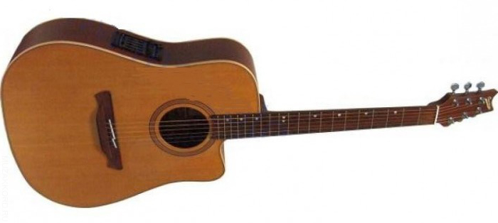 Электроакустическая гитара CUENCA mod. NW-20 CW E3