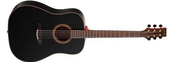 Акустическая гитара Martinez SW-12/BKM