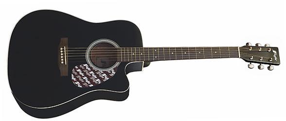 Шестиструнная гитара с вырезом Flight W12701C