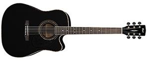 Электроакустическая гитара Cort AD 880CE BK