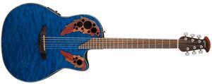Электроакустическая гитара Ovation CE44P-8TQ