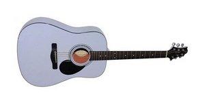 Белая акустическая гитара Greg Bennett D-1