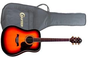 Акустическая гитара Crafter D-8 TS с чехлом