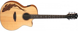 Электроакустическая гитара Luna OCL KOI2 Oracle Koi