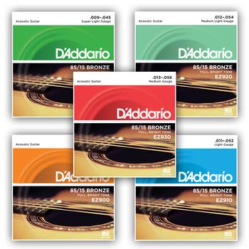 Струны D'ADDARIO 85*15