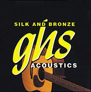 Струны ghs Silk And Bronze