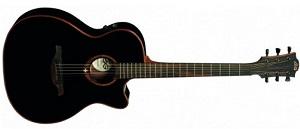 Электроакустическая гитара Lag T100ACE-BLK