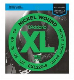 D'ADDARIO EXL220-5