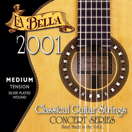 Струны La Bella Concert series 2001
