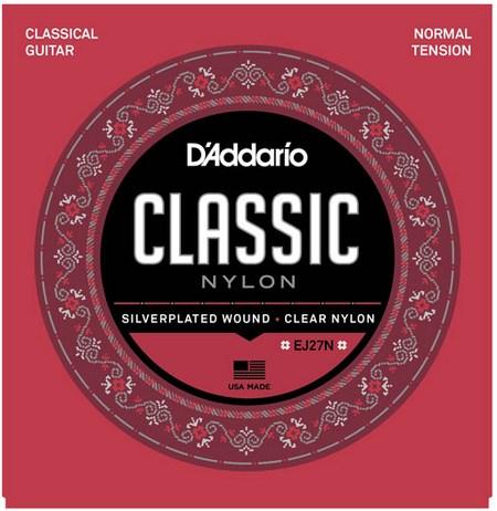 Струны D'ADDARIO Classic Nylon