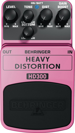 Педаль эффектов Behringer HD300