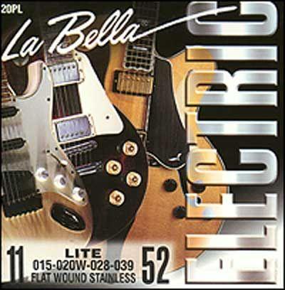 Струны La Bella Flat Wound Stainless